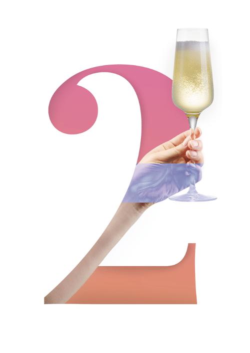 2 champagne